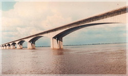 The Longest River Bridge Then in the World Across the Ganges