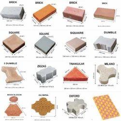 Terra Firma Cement Concrete Pavers, For Flooring