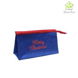 Christmas Jute Pouch