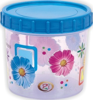 Printed Kitchen Plastic Container at Rs 21 /piece | Kitchen ...