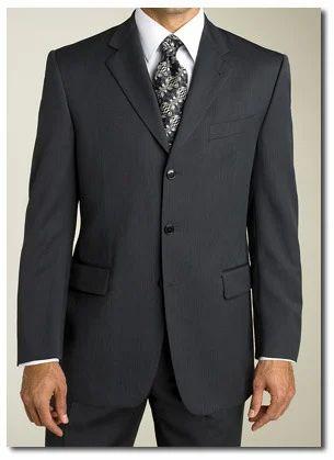 ebe545a17c9 Three Button Tropical Wool Suit - Vertex Tailors, Warangal | ID ...