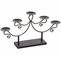5 Light Candle Holders