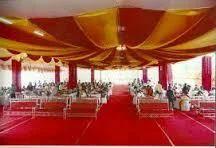 Tents, Shamiyana Service