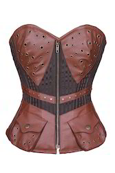 Bustomet Reporter Steampunk Overbust Corset