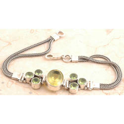 Lemon Quartz Bracelet