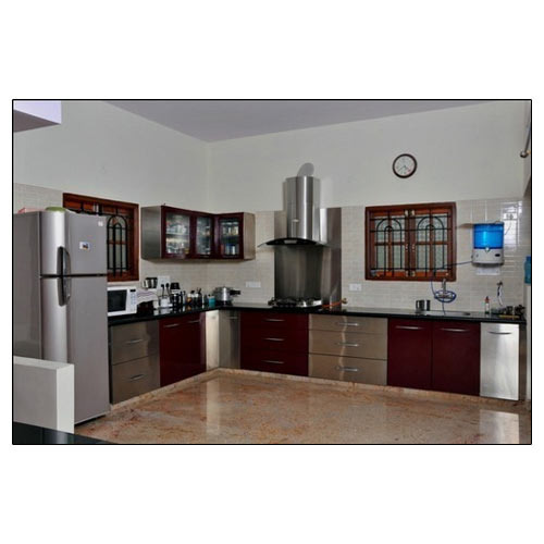 Designer Wooden Modular Kitchen Exotik Kitchen Hyderabad Id 8712687097