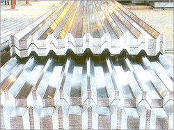 Industrial Troughed Aluminum Sheet