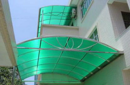 Polycarbonate Roofing Sheet at Rs 48/square feet(s ...