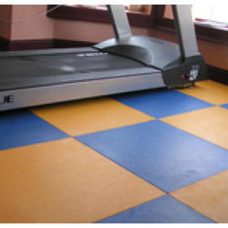 Gym Flooring, Commercial Building, Available Services: Installation