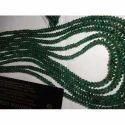 Emerald Plane Beads