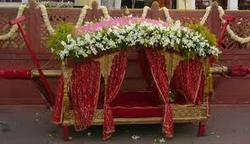 Wedding decoration doli decoration service provider from jaipur doli decoration junglespirit Images
