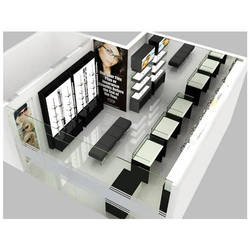 Modular Sunglasses Showroom Display