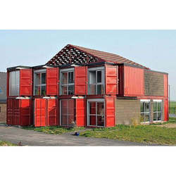 Double Storey MS Container House