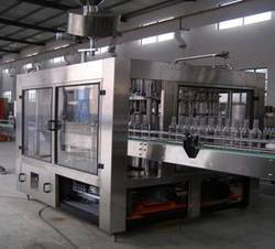 Automatic Glass Bottle Rinsing Filling And Capping Machine