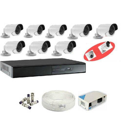 CCTV 8 Camera Kit Without Hard Disc