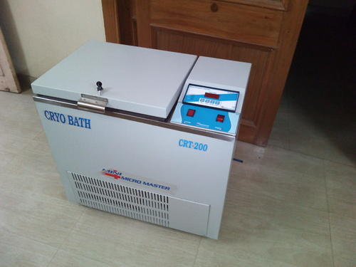 Blood Bank Equipment Cryo Bath Manufacturer From New Delhi
