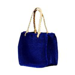 Rope Handle Jute Ladies Bag