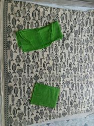 Green Khadi Salwar Suit