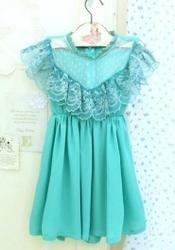 Turquoise Blue Chic Dress