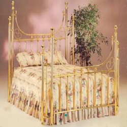 brass bed royale with wraps