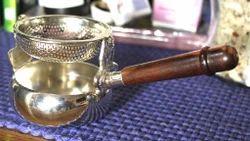Brass Swing Tea Infuser