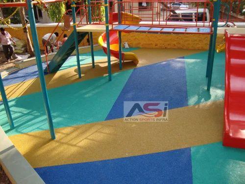 Rubber Floorings - Rubber Flooring Service Provider from Mumbai