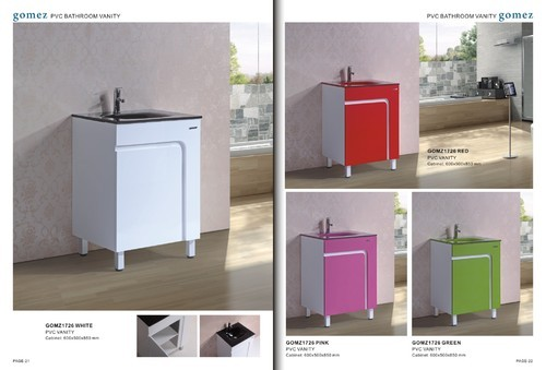 pvc bathroom vanity trader importer from kolkata - Bathroom Cabinets Kolkata