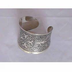 Silver Antique Cuffs