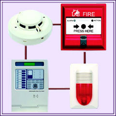 Fire Alarm Security Systems Smoke Detectors
