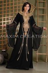 Designer Abaya Maxi Dress