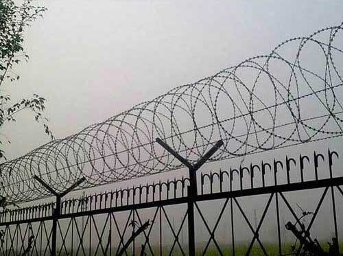 Concertina Wire Fencing With Installtion At Rs 260 Meter