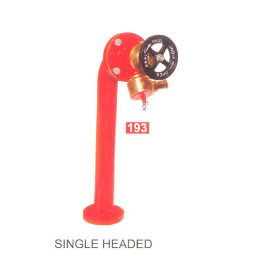 Fire Hydrant Stand Post Single Head Fire Hydrant Stand