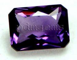 Amethyst Faceted Scissor Cut Octagon Gemstone