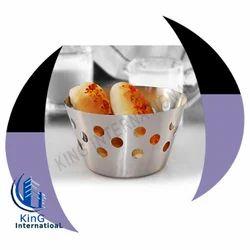 Stainless Steel Bread Baskets