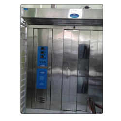 Double Trolley Rotary Rack Oven