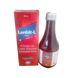 B Complex with L Lysine, Multivitamin and Antioxidant Syrup