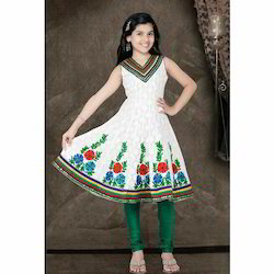 Embroidered Girls Anarkali Suit