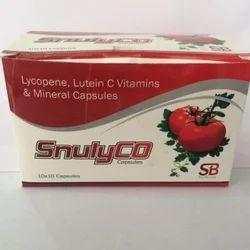 Lycopene Lutein C Vitamins Capsule