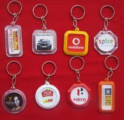 Plastic Digital Key Chain