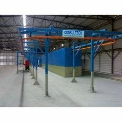 Conveyor Powder Coating Plant