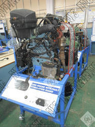 Engine Model With CRDI Fuel Injection