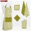 智能系列100%纯棉厨房布草套装,尺寸:标准