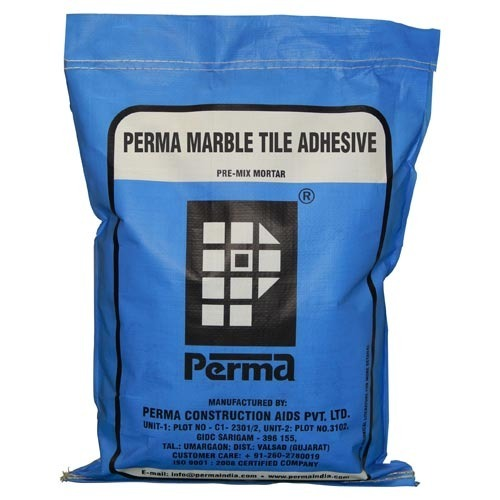 Perma Marble Tile Adhesive Packaging Size 25 Kg