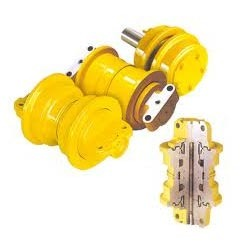 HARD STEEL Bottom Excavator Track Rollers, Features: Accurate Size