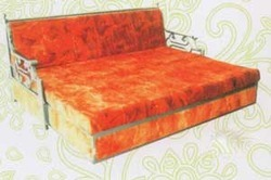 Stainless Steel Bed Cum Sofa