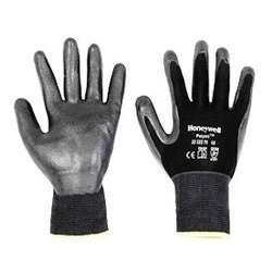 Black Foam Nitrile Hand Gloves