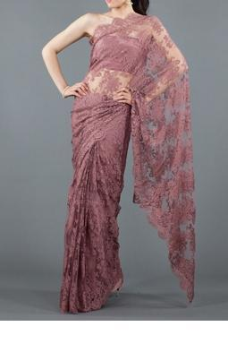 French chantilly lace saree view specifications details of french chantilly lace saree aloadofball Choice Image