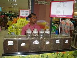 Tea Stall at Big Bazaar