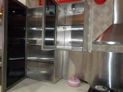 Stainless Steel Cabinets Crockery Unit