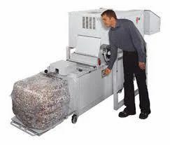 heavy duty paper shredder rental